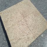 Preiswerter Preis flammte gelbe Fliese des Granit-G682