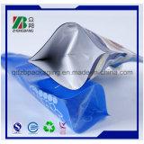 Bolsa plástica reutilizable del canalón del alimento para el jugo y la jalea