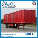 Import Truck Enclosed Van Semi Trailer für Sale