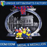 昇進のギフトのための2016年の中国の工場直売の金属メダル