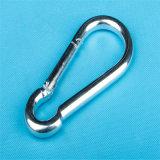 Гальванизированный крюк DIN 5299 c Carabiner щелчковый