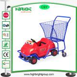 Einkaufen-Laufkatze-Karre für Kinder mit Metallkorb