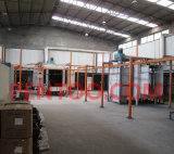 Einsparung Space Manual Powder Coating Booth mit ISO9001 Certificate