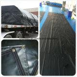 Bâche de protection de haute résistance de PVC pour le tissu de tente et la couverture américaine de camion