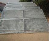ширина 6FT x 10FT панели загородки звена цепи труб 1.375 дюймов временно