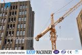 Vorbildlicher Tc5013 6t Turmkran China-für Aufbau-Maschinerie