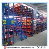 Défilement ligne par ligne en acier de mezzanine et de plate-forme de Muti-Niveau d'entrepôt lourd de la Chine