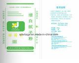 Nuevo material y bolso tejido impresión de la película de BOPP para el polvo de la masilla