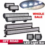 """off-Road LEIDENE Lichten & LEIDENE DrijfLichten 4.5 """" aan """" van het Werk Grootte 50 van LEIDENE van de Jeep van de Vrachtwagens van Wegvoertuigen Lichte Staven 150W 12000lm"""