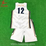 Haut de la vente de vêtements de sport Healong impression en sublimation maillot de basket-ball