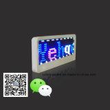 Distintivo di nome in tutto il mondo programmabile di colore completo del messaggio LED di Scrolling di linguaggio