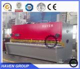 Máquina hidráulica do corte e de estaca da guilhotina da série de QC11Y