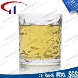 235ml 꽃 (CHM8030)를 가진 최고 백색 유리제 맥주 컵