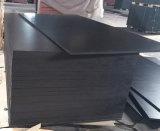 Het zwarte Shuttering van de Populier Film Onder ogen gezien Hout van het Triplex (6X1525X3050mm)