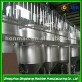 Conjunto completo Equipamento de refinação de óleo de girassol bruto de alta qualidade