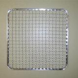 Tipo quadrato rete metallica per la griglia del BBQ