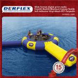 貨物自動車の防水シートの灰色の防水シートの貨物自動車カバー防水シート材料