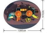 Le matériel extérieur de jeu de glissière de cours de jeu de gosses place HD-025A