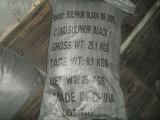 Zwarte Br 200%, 220%, de TextielKleurstof van de Zwavel van verfstoffen van 240%
