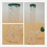 Tuyau d'eau en verre à borosilicate Beaker pour fumer