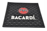 Red Bull Round Eco Rubber Tapetes personalizados coloridos Runner Counter Spill Mats Usando Full Color Promotional Silicon Bar