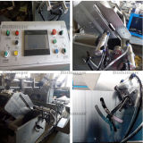 Serra de corte de cabeça dupla multifuncional CNC com perfil de alumínio
