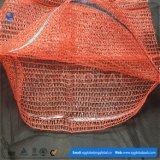 45*75cm Rot PET Raschel Ineinander greifen-Beutel auf Verkauf