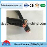 Cuerda y alambres estándar del cable de Australia 100m/Roll Black&Red