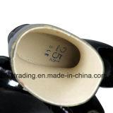 100% резиновые сапоги добычи со стальным носком и стальную пластину