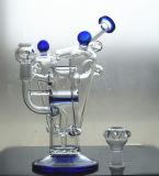 Tubulações de água elevadas do vidro de Borosilicate para o fumo de tabaco