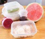 Économiseur d'aliments à base de silicone de qualité alimentaire pour couvrir le bol