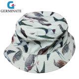 chapéu de 100%Polyester Sun com Digitas toda sobre a cópia no escudo (LY020)