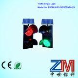 Tela LED de alta potência Solar Luz de sinal de tráfego na estrada