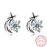 Bello orecchino di disegno della vite prigioniera dell'orecchio dell'argento sterlina 925 per la ragazza