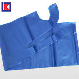롤에 처분할 수 있는 플라스틱 PE 앞치마를 돋을새김하는 파란 청결한 LDPE
