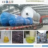 máquina de reciclagem de resíduos de pneus para a pirólise do óleo dos pneus 15ton por lote