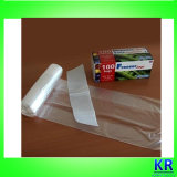 Мешки замораживателя ясного качества еды пластичные на крене
