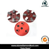 6 segmentos de barra Klindex Diamond Concrete Metal Polishing Pad
