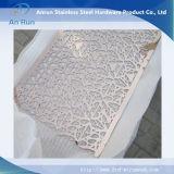 Hoja de acero cortada con láser para decoración exterior
