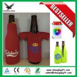 ネオプレンBottle Koozie、T-Shirt ShapeのBeer Bottle Cooler