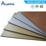 Painel composto de alumínio de 4 mm PVDF Fr para decoração de revestimento de parede exterior