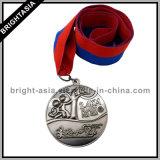 De goedkope Medailles van de Sport van het Metaal van de Douane voor Herinnering voor het Lopen (byh-10858)