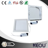 자격이 된 Ultra Slim 6W Square LED Panels Light