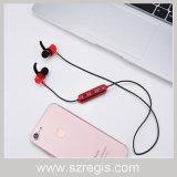 Auriculares baixos estereofónicos sem fio de Bluetooth V4.1 do altifalante do metal do interruptor automático