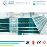 6.38mm 1/4 33.1 claro y verde el vidrio laminado para la construcción