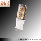 Nova lâmpada design G9 LED com melhor arrefecimento