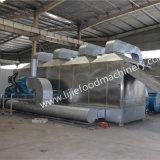 Meerespflanze-trocknende Maschine, Meerespflanze-Ineinander greifen-Förderband-Trockner, Meerespflanze-industrielle Entwässerungsmittel-Maschine