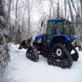 Vente populaire et piste en caoutchouc de qualité (380*65*46) pour le mobile de neige