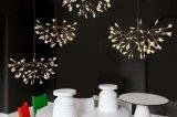 Candelabro moderno decorativo do pendente da iluminação do diodo emissor de luz do projeto estrelado