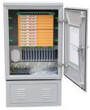 Gabinete de fibra óptica de telecomunicações